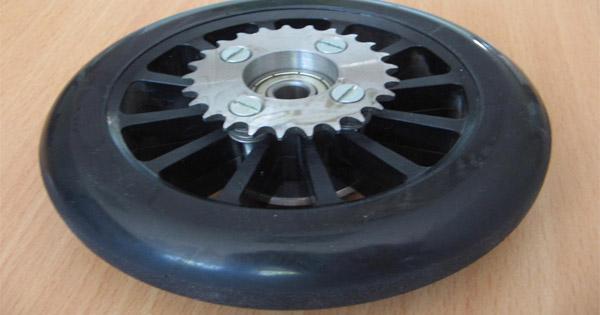 roue-trottinette-électrique