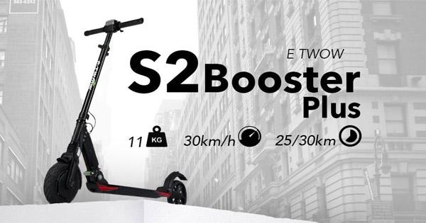 trottinette-électrique-E-TWOW-S2-Booster-Plus