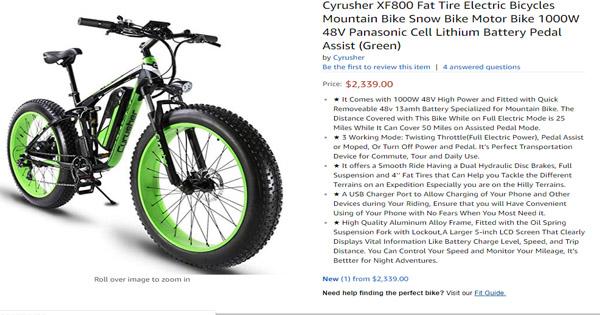 vélo-électrique-Cyrusher-XF800