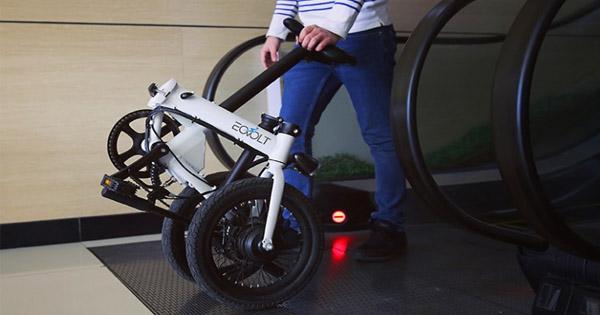vélo-électrique-Eovolt-Pliant