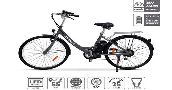 vélo-électrique-Nilox-E-Bike-X5