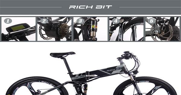 vélo-électrique-Rich-Bit-RT860