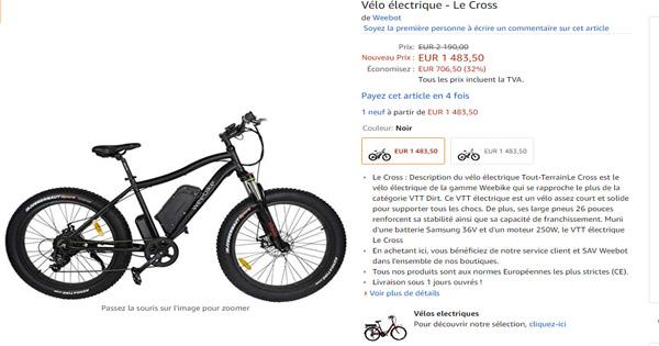 vélo-électrique-Weebike-Le-Cross