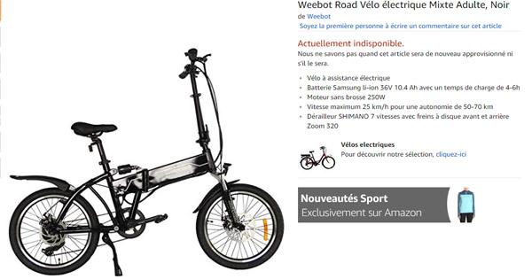 vélo-électrique-Weebike-Road