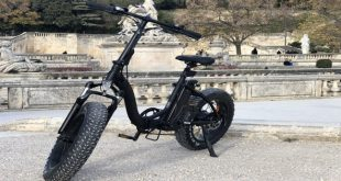 vélo-électrique-Yadea-Black-Fat