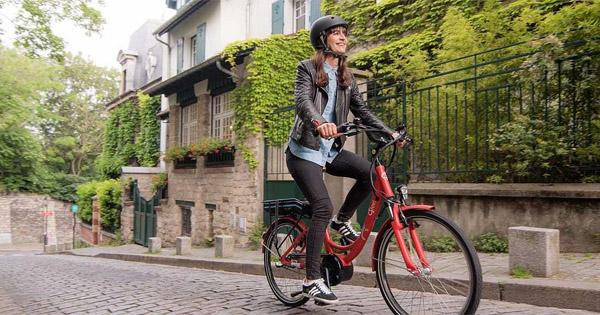 vélo-électrique-femme