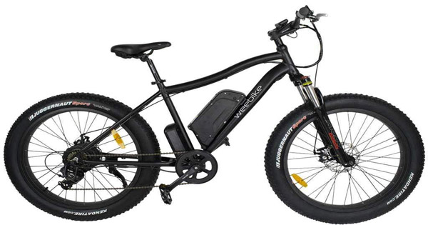 vélos-électriques-Weebike-Le-cross-noir